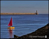 Sailboat on the Tyne by Dunstickin, photography->boats gallery