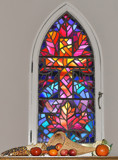 """My Favorite Stain Glass Window"" Rework by icedancer, photography->places of worship gallery"