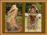 wood nymphs............ by fogz, Photography->Sculpture gallery