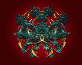 Royal Crest by Frankief, Abstract->Fractal gallery