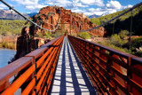 verde river sheep crossing bridge by jeenie11, Photography->Bridges gallery