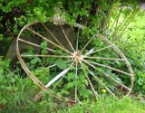 Old Wagon Wheel by verenabloo, Photography->Transportation gallery
