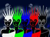 Illuminettes by Jhihmoac, Illustrations->Digital gallery