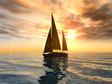 Yacht by fog76, Computer->3D gallery