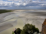 View from Mont-Saint-Michel by Paul_Gerritsen, Photography->Landscape gallery