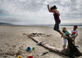 Fun at the Beach!! by verenabloo, photography->people gallery