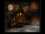 Haunted house by Junglegeorge, Photography->Manipulation gallery