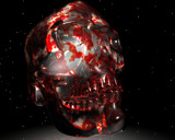 The 1st Skull Crystal by MrXwild, Computer->3D gallery