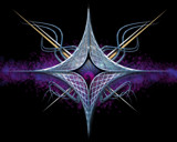 stars and spikes by cro5point, abstract gallery