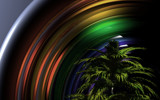 Rainbowed Palm by FlimBB, abstract->surrealism gallery