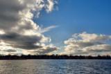 Sky Patterns Over Center Lake #2 by tigger3, photography->skies gallery
