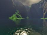 Island shadows by Mannie3, computer->landscape gallery