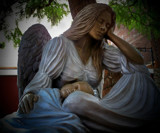 Tuckered Out Angel by kidder, Photography->Sculpture gallery