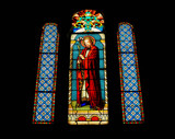 Stained Glass I by 100k_xle, photography->places of worship gallery