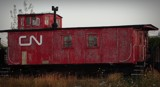 TRAIN CABOOSE by GIGIBL, photography->trains/trams gallery