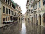 Rainy day Corfu Town by slybri, Photography->Architecture gallery