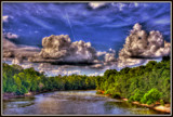 Pee Dee Sky HDR by Mvillian, photography->skies gallery