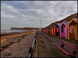 Saltburn Beach Huts by Dunstickin, photography->shorelines gallery