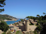 Tossa de Mar by Dehli, Photography->Castles/ruins gallery