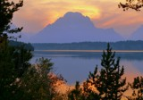 Image: Grand Teton - Splendor At Sunset