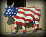 Patriotic Cow by Starglow, photography->sculpture gallery