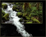 Mountain stream (framed ) by kodo34, Rework gallery