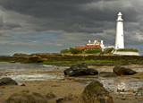 From the beach by biffobear, photography->lighthouses gallery