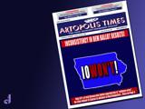 "Artopolis Times - Caucus ""Glitch"" by Jhihmoac, illustrations->digital gallery"