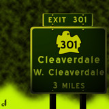AU Road Signs - Exit 301 by Jhihmoac, illustrations->digital gallery