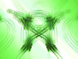 St. Patrick's Day Fractal by connodado, Abstract->Fractal gallery