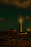 Twilight.....St Marys by biffobear, photography->lighthouses gallery