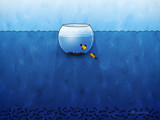 Aquarium by vladstudio, Illustrations->Digital gallery