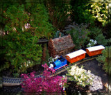 Railroad in the Garden by trixxie17, photography->gardens gallery