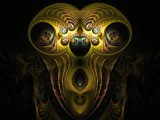 Alien Mask by jswgpb, abstract gallery