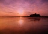 Bamburgh at Dawn by shedhead, photography->castles/ruins gallery
