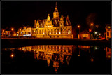 Kloveniersdoelen At Nighttime. by corngrowth, photography->architecture gallery