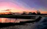 Sunset on Aduarderzijl by rozem061, photography->sunset/rise gallery
