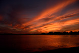 Sunset Sky Over Winona Lake The Drama Unfolds by tigger3, photography->sunset/rise gallery