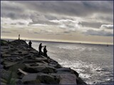 Fishers of an Ethereal Dawn by Pjsee16, photography->shorelines gallery