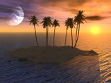 Paradise, Try 2 by Mindstormer, Computer->Landscape gallery