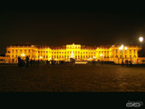 Vienna by night - Schoenbrunn Palace by boremachine, photography->castles/ruins gallery