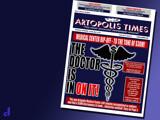 Artopolis Times - Med Center Scandal by Jhihmoac, illustrations->digital gallery