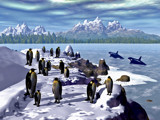 March of the Penguins by vicvog, Computer->Landscape gallery