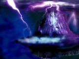 Fantasy Landscape Ice&Lightning (revised) by grimbug, photography->manipulation gallery