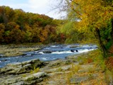 Differenet Shot of Fall at Ohiopyle by thebitchyboss, photography->landscape gallery