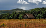 Shed in Field rebuilt by biffobear, photography->landscape gallery