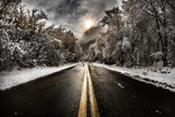 The Cold Road Ahead by lnoyes, photography->sunset/rise gallery