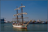 Leaving Flushing by corngrowth, Photography->Boats gallery