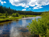 Bighorn Mountain Creek by Pistos, photography->nature gallery