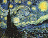 Starry Night by Vincent van Gogh, illustrations->traditional gallery